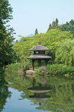 Hangzhou west lake pavilion Royalty Free Stock Photos