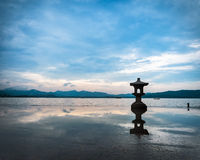 Hangzhou west lake scenery Royalty Free Stock Photography