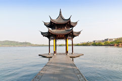 Hangzhou west lake scenery, in China Royalty Free Stock Photos