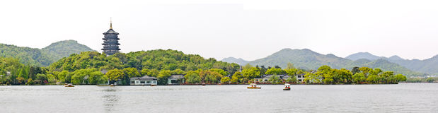 Hangzhou west lake scenery, China Stock Image