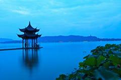 Hangzhou west lake scenery Stock Photos