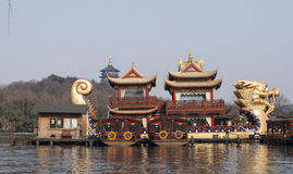 Hangzhou West Lake Scenic Area Royalty Free Stock Image