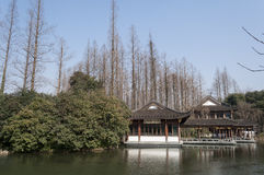 Hangzhou West Lake Scenic Area Royalty Free Stock Images