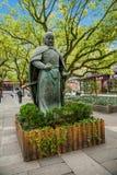 Hangzhou West Lake Temple Yue Fei Yue Fei Statue Royalty Free Stock Photography