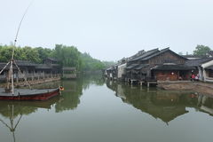 Hangzhou Wuzhen Lizenzfreies Stockfoto