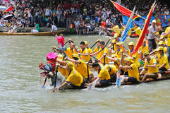 Hangzhou xixi wetland Dragon boat race,in China Stock Photography