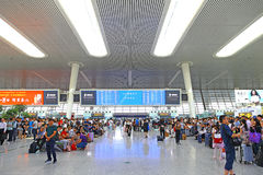 Hangzhoustation, China Royalty-vrije Stock Foto