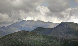 Hani I Hotit Berg albacoren arkivfoto