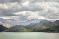 Hani I Hotit Lake Shkoder albacoren royaltyfri bild