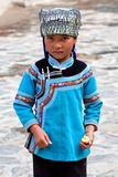 Hani-Mädchen, China Stockfotografie