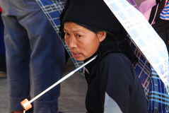 Hani people in Southwest  China Stock Images