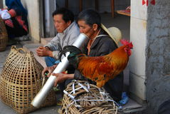 Hani people in Southwest  China Stock Photo