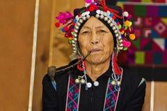 Hani Woman arkivbild