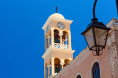 Hania church, Crete island Stock Photos