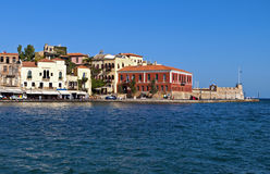Hania city at Crete island, Greece Stock Photography