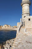 Hania city at Crete island in Greece Royalty Free Stock Images