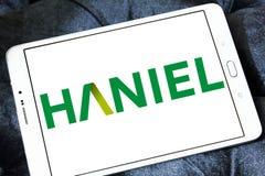 Haniel company logo stock photos
