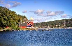 Hankø port Royaltyfri Bild