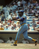 Hank Aaron Milwaukee Brewers Arkivfoton