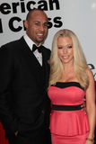 Hank Baskett,Kendra Wilkinson Royalty Free Stock Images