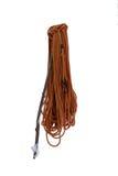 Hank Of die kabel met een zwarte sluiting beklimmen Stock Foto