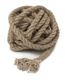 Hank of hemp rope, closeup Stock Photography