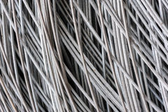 Hank of metal wire background Stock Photography