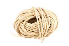 Hank of  rope Stock Photo