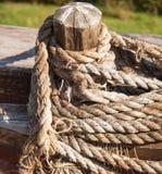 Hank ship rope Stock Photos