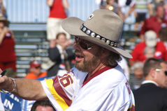 Hank Williams Jr at Sarah Palin Rally Stock Image