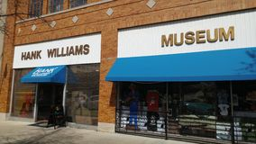 Hank Williams Museum Royalty Free Stock Images