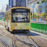The Hankai Tramway in Osaka Stock Photography