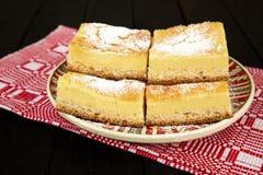 Hanklich, traditionele Saksische cake Stock Foto's