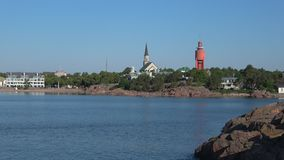 Hanko Pogodny Lipa ranek Finlandia zbiory