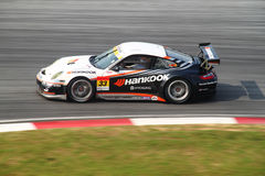 Hankook Porsche 33, SuperGT 2010 stock photography