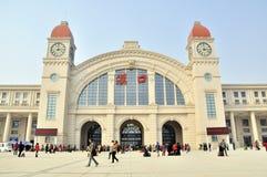 Hankou Railway Station Stock Photo