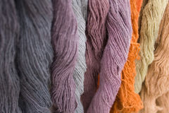 Hanks of wool royalty free stock images