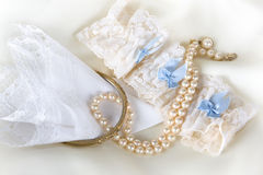 Hanky and garter Royalty Free Stock Image
