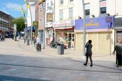 Hanley shopping centre stock photos