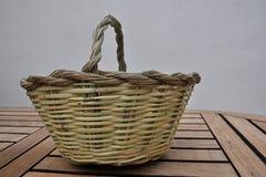 Hanmade de la cesta del bastón Imágenes de archivo libres de regalías