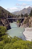 Hanmer Springs Bridge Royalty Free Stock Photos