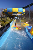Hanmer Springs Spa Resort Hydroslide, New Zealand Royalty Free Stock Photography