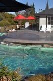 Hanmer Springs spa tourist resort, New Zealand Stock Photography