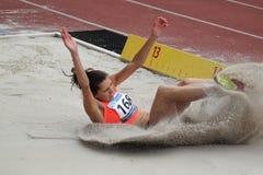 Hanna Knyazyeva - athletics Royalty Free Stock Photography
