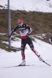 Hanna Kolb - skieur allemand de pays en travers Photos libres de droits
