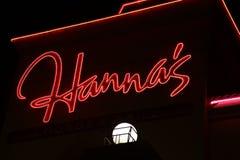 Hanna ` s på deltasemesterortgränsmärket Kelowna, F. KR. turism Arkivbild