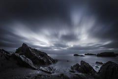 Hannafore point gloomy sunrise Stock Images