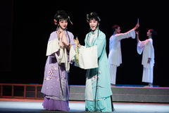 "Hannah and Her Sisters-Jiangxi opera ""Red pearl"" Royalty Free Stock Photos"