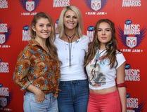 Hannah Mulholland, Jennifer Wayne, Naomi Cooke stock afbeelding