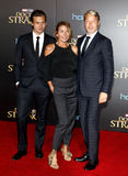 Hanne Jacobsen and Mads Mikkelsen Royalty Free Stock Image